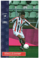 Programme Football 2003 2004 : Willem II V FC Groningen (Holland) - Boeken