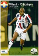 Programme Football 2006 2007 : Willem II V FC Groningen (Holland) - Boeken