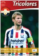 Programme Football 2010 2011 : Willem II V FC Groningen (Holland) - Boeken