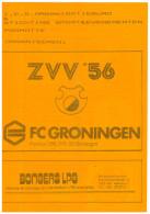 Programme Football 1990 1991: ZVV 56 Apeldoorn V FC Groningen (Holland) FRIENDLY - Boeken