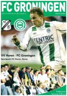 Programme Football 2005 2006 : Vv Haren V FC Groningen (Holland) FRIENDLY - Boeken