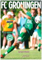 Programme Football 2006 2007 : Scheemda V FC Groningen (Holland) FRIENDLY FCG Editie - Boeken