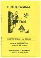 Programme Football 2007 2008 : Dordrecht 90 V FC Groningen (Holland) FRIENDLY Bij GOMOS - Boeken