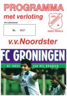 Programme Football 2007 2008 : Noordster V FC Groningen (Holland) FRIENDLY - Boeken
