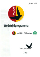 Programme Football 2008 2009 : HSC V FC Groningen (Holland) FRIENDLY - Boeken