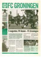 Programme Football 2008 2009 : Annen V FC Groningen (Holland) FRIENDLY FCG Editie - Boeken