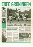 Programme Football 2008 2009 : Harkemase Boys V FC Groningen (Holland) FRIENDLY FCG Editie - Boeken