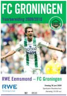 Programme Football 2009 2010 : Eemsmond V FC Groningen (Holland) FRIENDLY In Roodeschool - Boeken