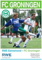 Programme Football 2011 2012 : Eemsmond V FC Groningen (Holland) FRIENDLY - Boeken