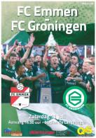 Programme Football 2015 2016 : Emmen V FC Groningen (Holland) FRIENDLY In Veendam - Boeken