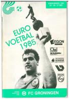 Programme Football 1985 Youth Tournament: FC Groningen, DDR, Celtic Glasgow, Nederlands Elftal, Olympiakos, Feyenoord - Boeken