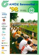 Programme Football 1998 Youth Tournament: FC Groningen, Benfica, Nottingham Forest, PSG Paris Saint Germain, - Boeken