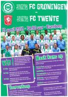 Flyer Football 2010 2011 : Jong FC Groningen V Jong FC Twente Enschede (Holland) NO PROGRAMME! - Boeken