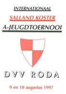 Programme Football Youth Tournament 1997 : FC Groningen, TuS Paderborn, Heerenveen, AZ Alkmaar, NEC Nijmegen, DVV - Boeken