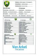 Team Sheet Football 2000s : ADO Den Haag U17 V FC Groningen U17 (Holland) - Boeken