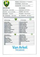 Team Sheet Football 2000s : ADO Den Haag U19 V FC Groningen U19 (Holland) - Boeken