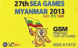 *MYANMAR* - Scheda Usata