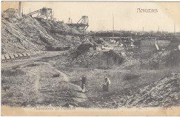 49 ANGERS - Ardoisières De Fresnais - Voyagé 1903 - BE - Angers
