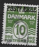 Danemark 1921 N° 149A Surchargé Postfaerge Oblitéré - 1913-47 (Christian X)