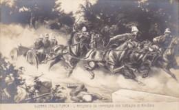 Military Italy-Turkish War L'Artiglierie da campagna alla battag