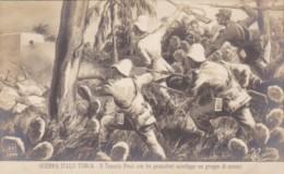 Military Italy-Turkish War Il Tenente Pesci con tre granatieri s
