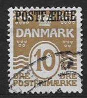 Danemark 1930 N° 196 Surchargé Postfaerge Oblitéré - 1913-47 (Christian X)