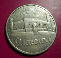 Estonia 2 Krooni 1930 Silver - Estonie