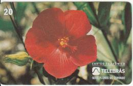 BRAZIL(Telebras) - Flower, 03/95, Used - Brazil