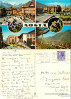 Aosta, Val D'Aosta , Italy Postcard Posted 1972 Stamp - Aosta