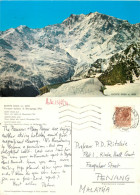 Monte Rosa, Val D'Aosta , Italy Postcard Posted 1974 Stamp - Italy