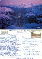 Courmayeur, Val D'Aosta , Italy Postcard Posted 1989 Stamp - Aosta