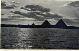 EGYPTE  CAIRO The Pyramid Of Giseh - Cairo