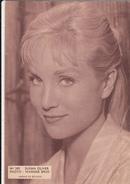 Artiste Actrice :photo SUSAN OLIVER - Filmster Cinema Cine ELITE Publicité Reclame DEURNE Warner Bros - Pubblicitari