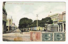 CUBA  /  HABANA  ( LA HAVANE ) /  PASEO  DEL  PRADO  Y  CALLE  NEPTUNO  /  BEAUX  TIMBRES..... - Cuba