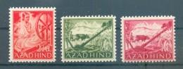 AZAD HIND NATIONALES INDIEN VIII/X LUXUS**POSTFRISCH 18EUR (70438 - Bezetting 1938-45