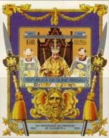 BULK: 2 X GUINEA-BISSAU 1978. Coronation QII IMPERF. Sheetlet  [non Dentelé,Geschnitten,no Dentado] - Guinea-Bissau