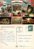 Oktoberfest, Munchen, Germany Postcard Posted 1986 Stamp - Muenchen