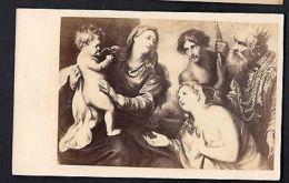 Van Dyck German Victorian Trading Card CDV Gustav Schauer Photo Ca1860 Original - Non Classés