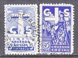 COLUMBIA   CRUZADA  SOCIAL   CHARITY  LABELS    (o) - Colombia