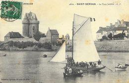 Saint-Servan (Ille-et-Vilaine) - La Tour Solidor - Belle Animation: Voilier Et Barques - Carte G.F. N° 4602 - Autres Communes