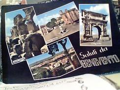 2 CARD BENEVENTO  ARCO E VEDUTE N VB1962 FV8573 - Benevento