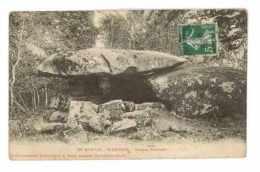 CPA 58 ST-BRISSON DOLMEN CHEVRESSE - France