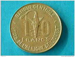 1987 - 10 FRANCS / KM 10 ( For Grade, Please See Photo ) ! - Other - Africa