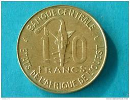 1987 - 10 FRANCS / KM 10 ( For Grade, Please See Photo ) ! - Autres – Afrique