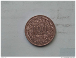 1969 Ouest Afric - 100 Francs - KM 4 ( Uncleaned - For Grade, Please See Photo ) ! - Monnaies