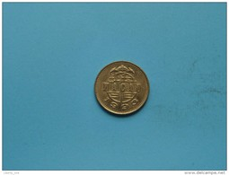 1993 - 50 Avos - KM 72 ( Uncleaned Coin / For Grade, Please See Photo ) !!