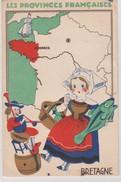 LES PROVINCES FRANCAISES -  BRETAGNE - EDITION DES PRODUITS ECLIPSE - Bretagne