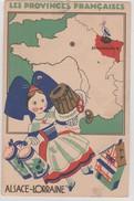 LES PROVINCES FRANCAISES -  ALSACE LORRAINE - EDITION DES PRODUITS ECLIPSE - Alsace