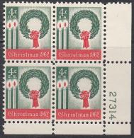UNITED STATES     SCOTT NO. 1205      MNH      YEAR  1962