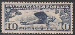 UNITED STATES     SCOTT NO.  C10     MINT HINGED       YEAR  1927